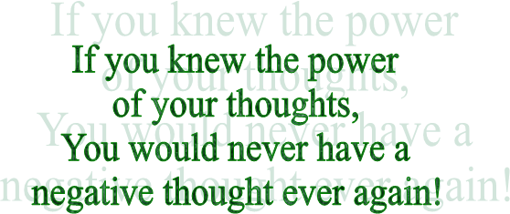 If you knew the power